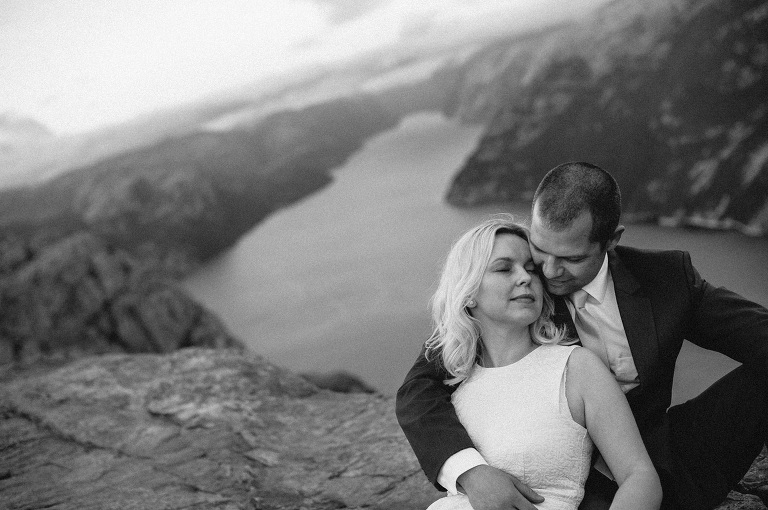 preikestolen wedding photography
